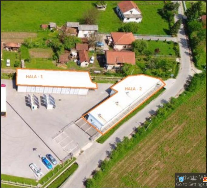 Poslovni objekat (HALE) 450 m2 – Ramići