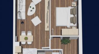 Dvosoban stan 44.67 m2 – Starčevica