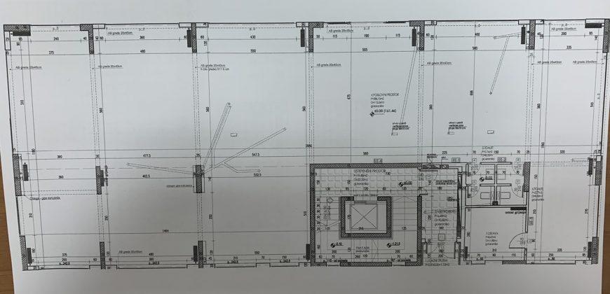 Poslovni prostor 300 m2 – Mejdan/Obilićevo