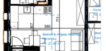 Garsonjera 32,02 m2 – Rosulje